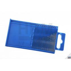20 forets HSS (Ø 0.3 à 1.6 mm) - 2138