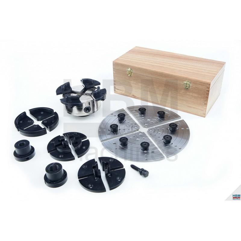 mandrin complet tour bois 150 mm. Black Bedroom Furniture Sets. Home Design Ideas