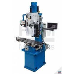 Fraiseuse HBM 45 DRO PROFI - 230V -1500W - 00212